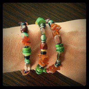 Jewelry - Mixed Beads Wrap Bracelet